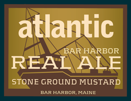 BAR HARBOR REAL ALE MUSTARD