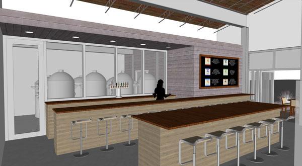 Pilot Brewery Interior