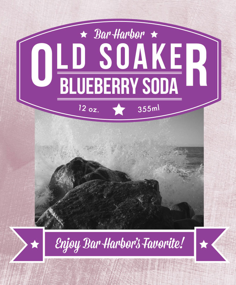 OLD SOAKER BLUEBERRY SODA