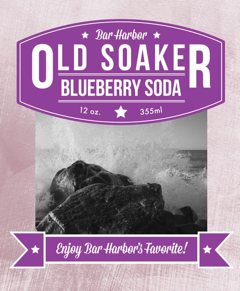 OLD SOAKER BLUEBERRY SODA